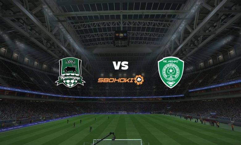 Live Streaming Krasnodar vs Akhmat Grozny 3 April 2021 1