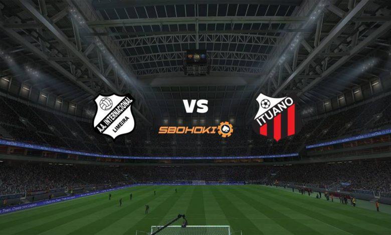 Live Streaming Inter de Limeira vs Ituano 22 April 2021 1