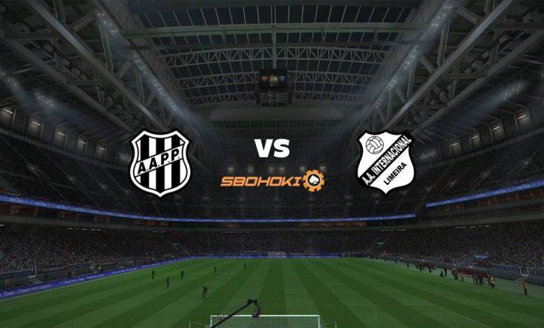 Live Streaming Ponte Preta vs Inter de Limeira 26 April 2021 1