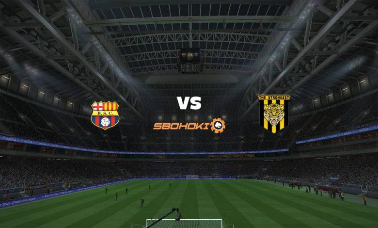 Live Streaming Barcelona SC vs The Strongest 29 April 2021 1