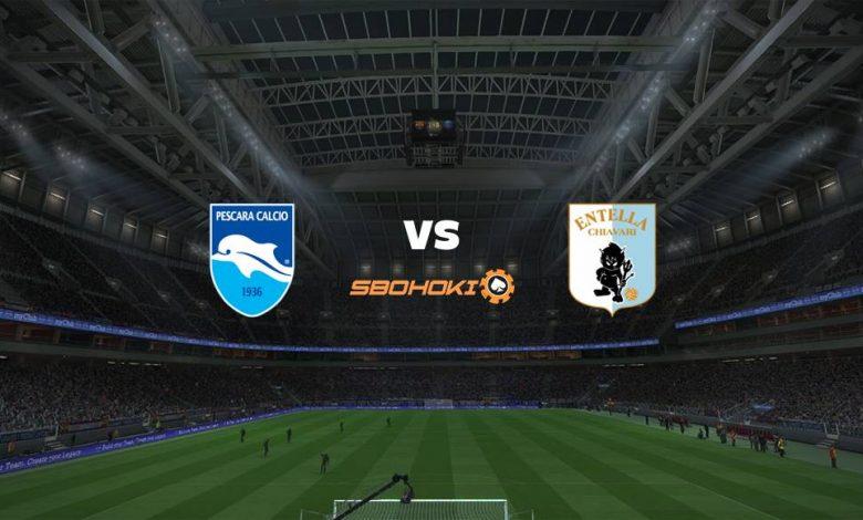 Live Streaming Pescara vs Virtus Entella 27 April 2021 1