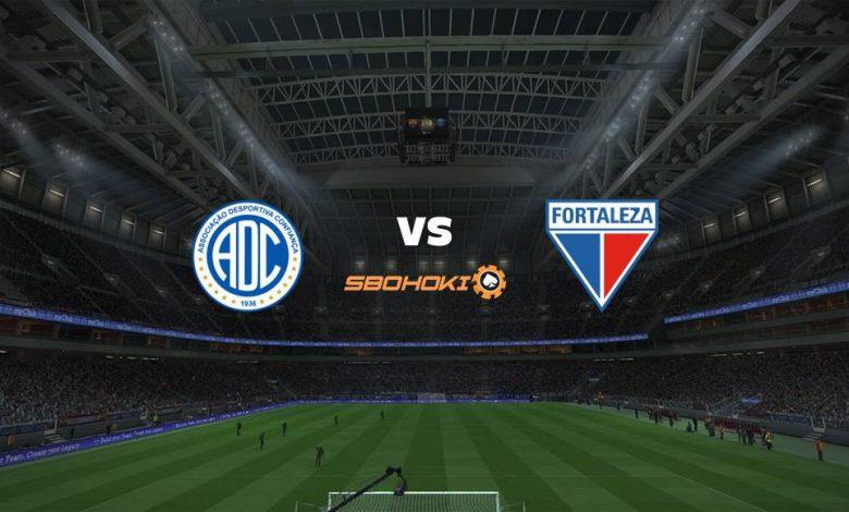 Live Streaming Confiança vs Fortaleza 10 April 2021 1