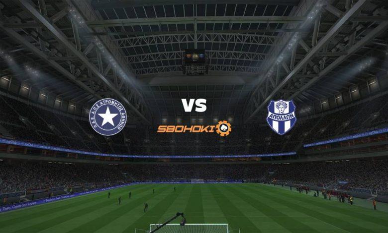 Live Streaming Atromitos vs Apollon Smyrni 3 April 2021 1