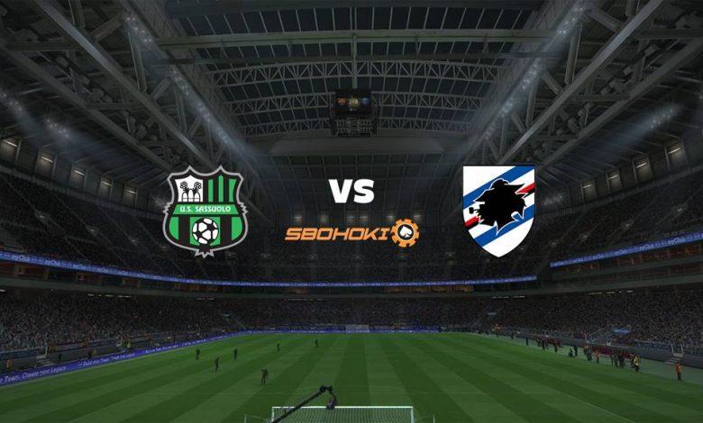 Live Streaming Sassuolo vs Sampdoria 24 April 2021 1