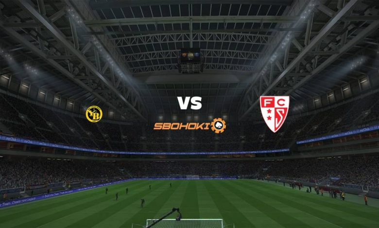 Live Streaming Young Boys vs FC Sion 25 April 2021 1