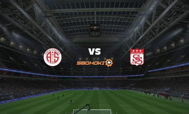 Live Streaming Antalyaspor vs Sivasspor 7 April 2021 1