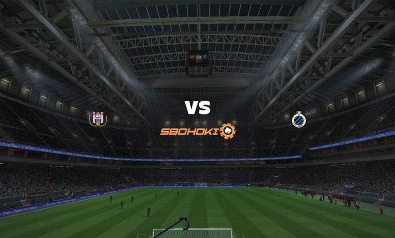 Live Streaming Anderlecht vs Club Brugge 11 April 2021 1