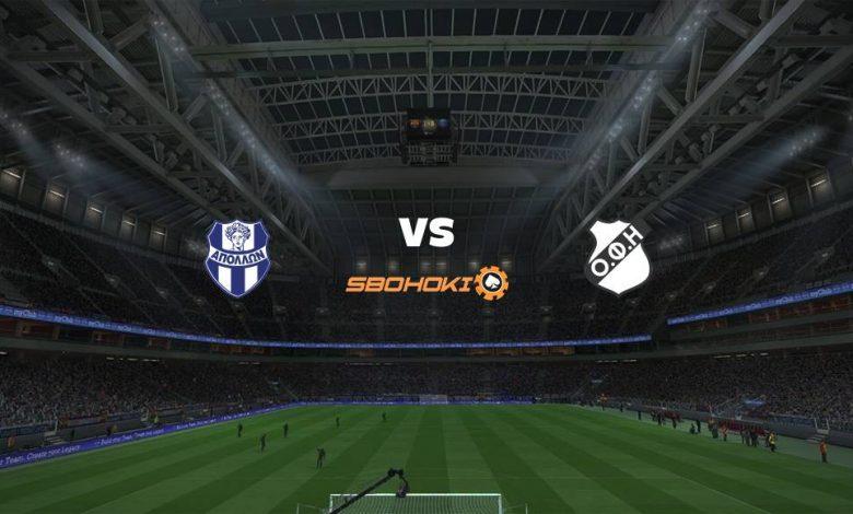 Live Streaming Apollon Smyrni vs OFI Crete 10 April 2021 1