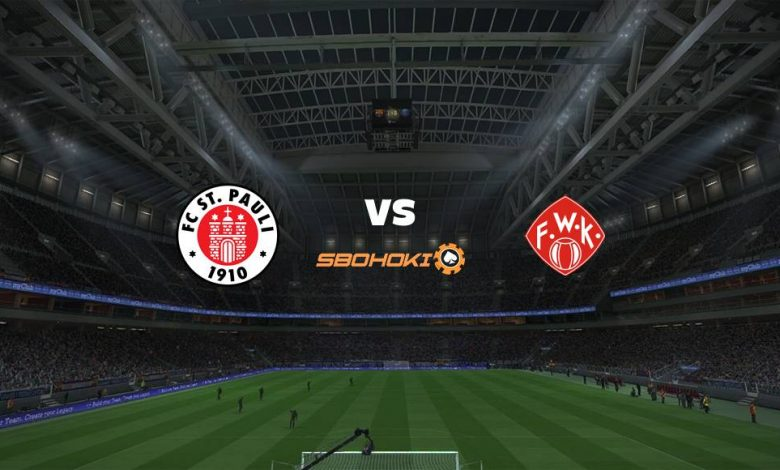 Live Streaming St Pauli vs Würzburger Kickers 17 April 2021 1