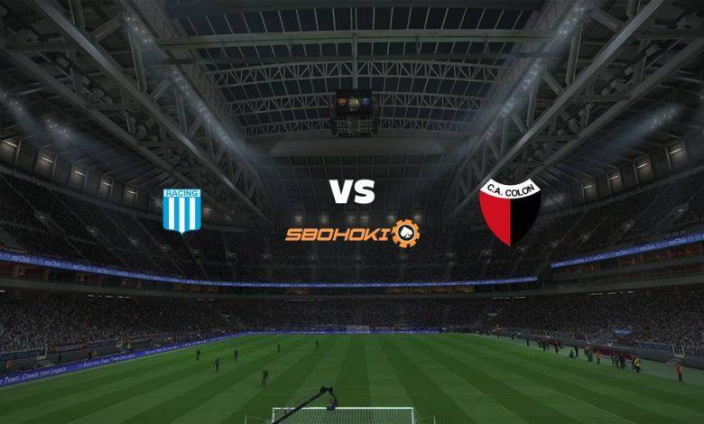 Live Streaming Racing Club vs Colón (Santa Fe) 25 April 2021 1