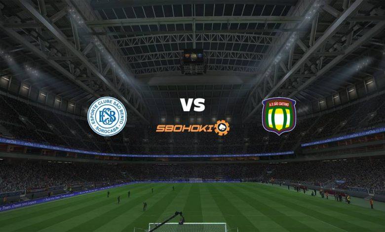 Live Streaming São Bento vs São Caetano 20 April 2021 1