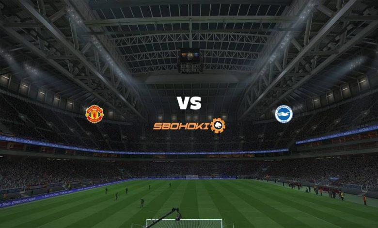 Live Streaming Manchester United vs Brighton and Hove Albion 4 April 2021 1
