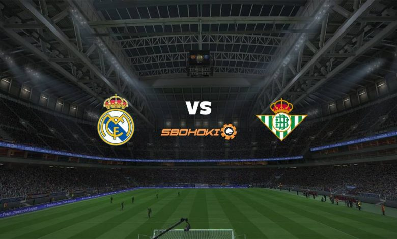 Live Streaming Real Madrid vs Real Betis 24 April 2021 1