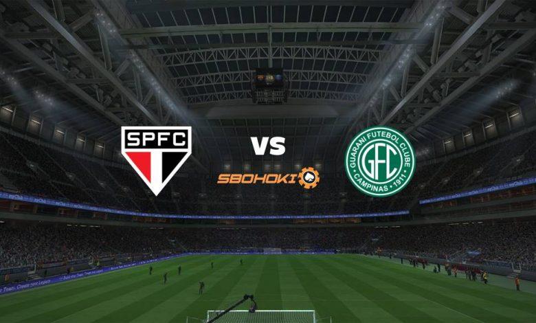 Live Streaming São Paulo vs Guarani 15 April 2021 1