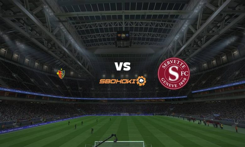 Live Streaming FC Basel vs Servette 18 April 2021 1