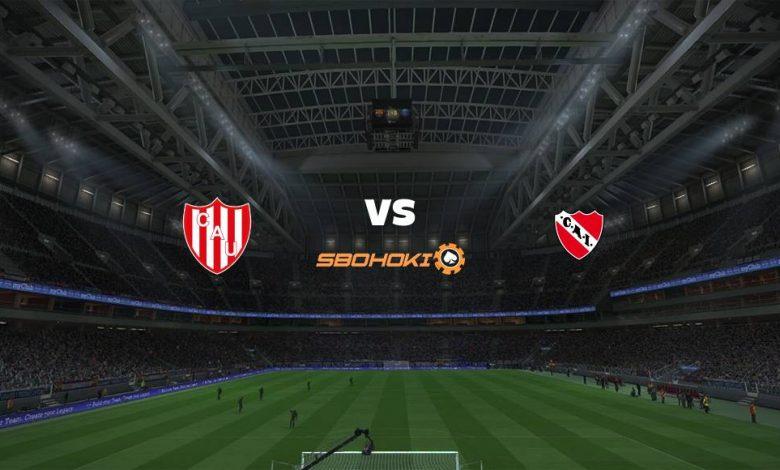 Live Streaming Unión (Santa Fe) vs Independiente 25 April 2021 1