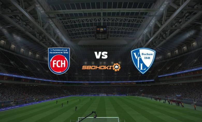 Live Streaming 1. FC Heidenheim vs VfL Bochum 21 April 2021 1