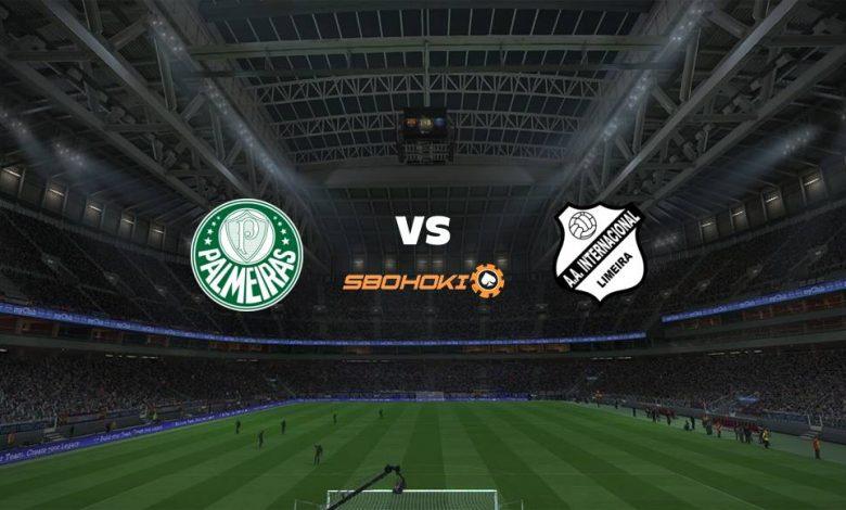 Live Streaming Palmeiras vs Inter de Limeira 30 April 2021 1