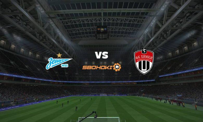 Live Streaming Zenit St Petersburg vs FC Khimki 5 April 2021 1