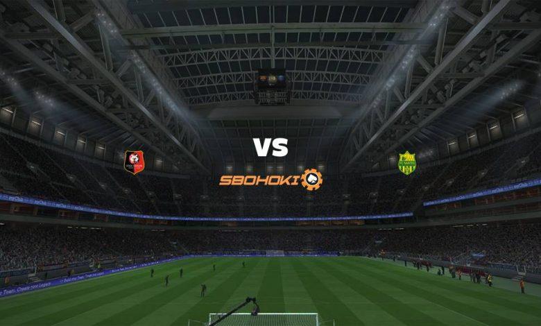 Live Streaming Rennes vs Nantes 11 April 2021 1