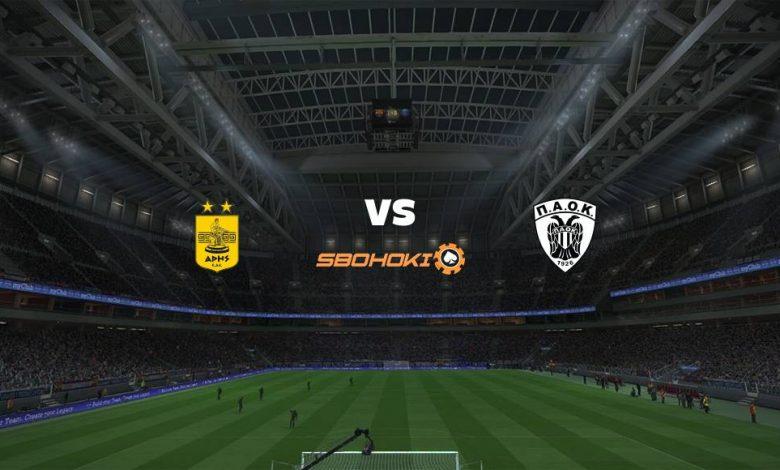 Live Streaming Aris vs PAOK Salonika 21 April 2021 1