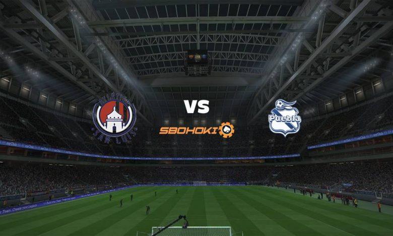 Live Streaming Atlético San Luis vs Puebla 17 April 2021 1