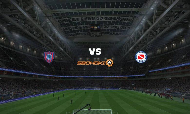 Live Streaming San Lorenzo vs Argentinos Juniors 17 April 2021 1