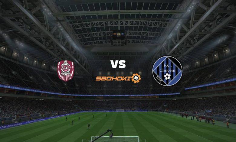 Live Streaming CFR Cluj-Napoca vs Academica Clinceni 18 April 2021 1