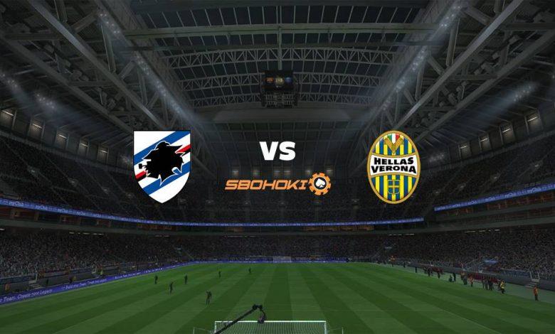 Live Streaming Sampdoria vs Hellas Verona 17 April 2021 1