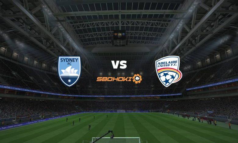 Live Streaming Sydney FC vs Adelaide United 18 April 2021 1