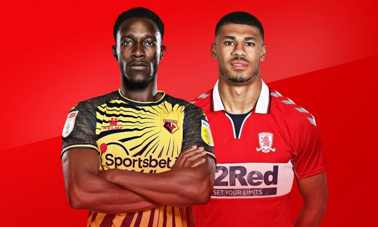 Prediksi Middlesbrough vs Watford Senin 5 April 2021 1