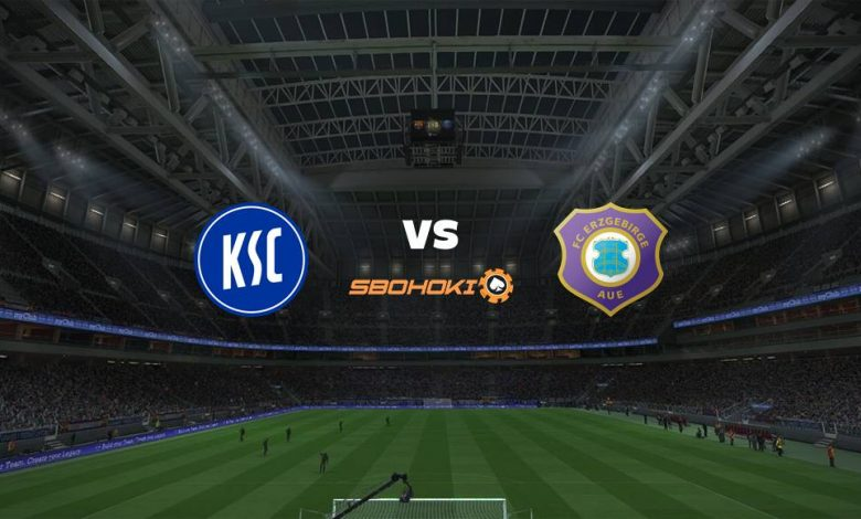 Live Streaming Karlsruher SC vs FC Erzgebirge Aue 26 April 2021 1