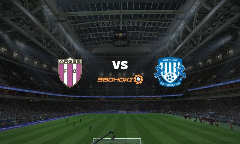 Live Streaming FC Arges vs CSMS Iasi 18 April 2021 1
