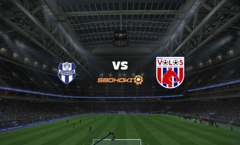 Live Streaming Apollon Smyrni vs Volos NFC 26 April 2021 1