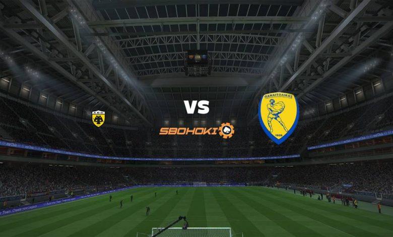 Live Streaming AEK Athens vs Panathinaikos 21 April 2021 1