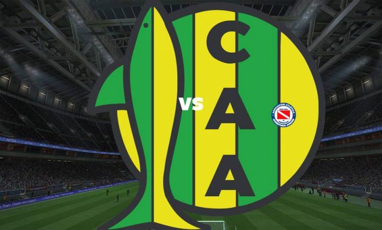 Live Streaming Aldosivi vs Argentinos Juniors 2 Mei 2021 1