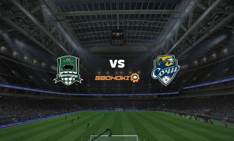 Live Streaming Krasnodar vs Sochi 1 Mei 2021 1