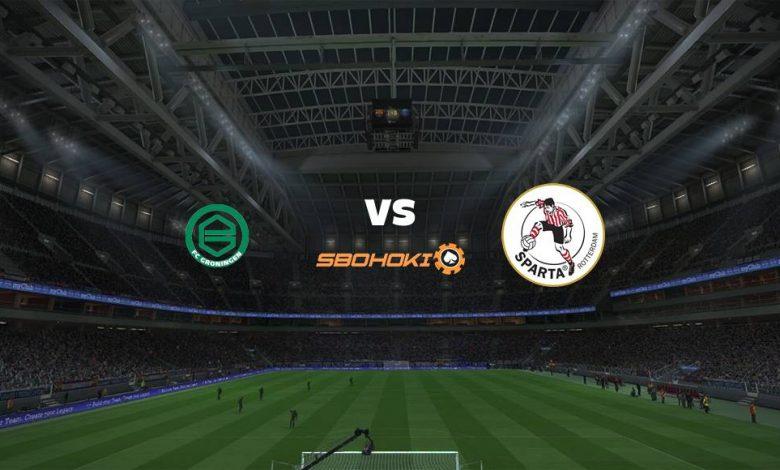 Live Streaming FC Groningen vs Sparta Rotterdam 2 Mei 2021 1