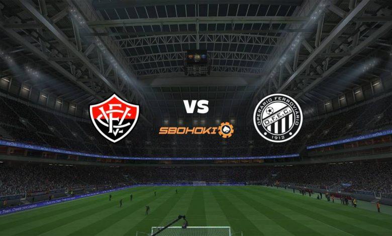 Live Streaming Vitória vs Operario PR 13 Juni 2021 1