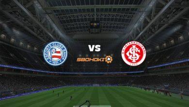 Photo of Live Streaming  Bahia vs Internacional 13 Juni 2021