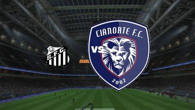 Photo of Live Streaming  Santos vs Cianorte 8 Juni 2021