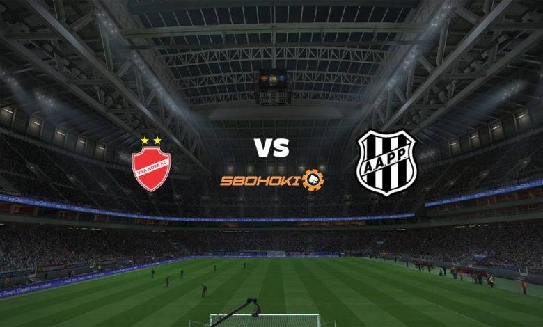 Live Streaming Vila Nova-GO vs Ponte Preta 4 Juli 2021 1