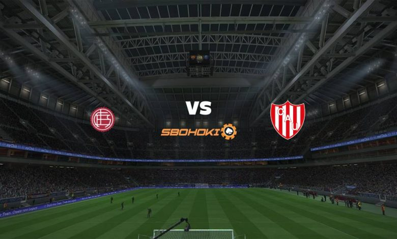 Live Streaming Lanús vs Unión (Santa Fe) 31 Juli 2021 1