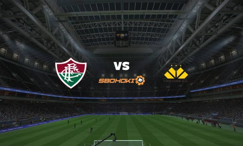 Live Streaming Fluminense vs Criciúma 31 Juli 2021 1