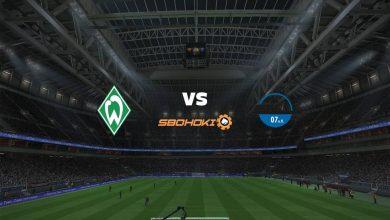 Photo of Live Streaming  Werder Bremen vs SC Paderborn 07 15 Agustus 2021
