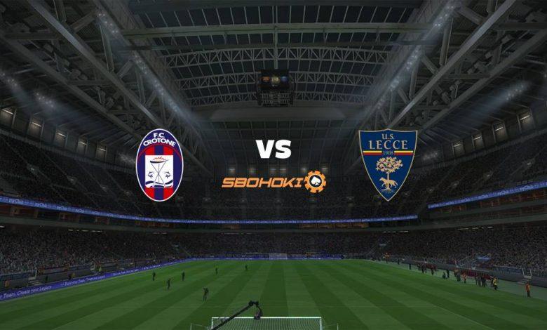 Live Streaming Crotone vs Lecce 21 September 2021 1