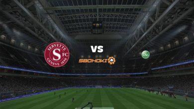 Photo of Live Streaming  Servette vs St Gallen 12 September 2021