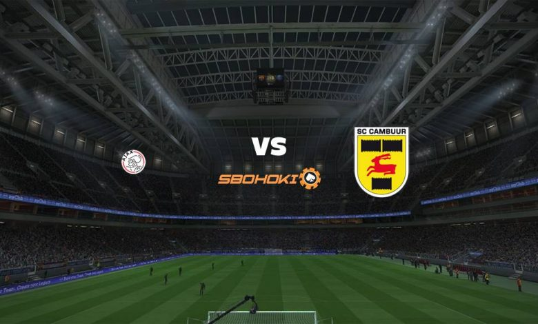 Live Streaming Ajax Amsterdam vs SC Cambuur 18 September 2021 1