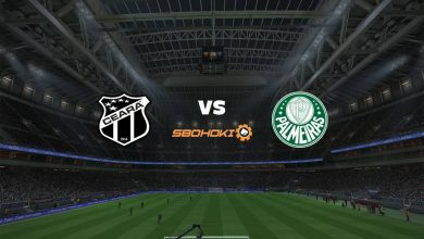 Photo of Live Streaming  Ceará vs Palmeiras 5 September 2021