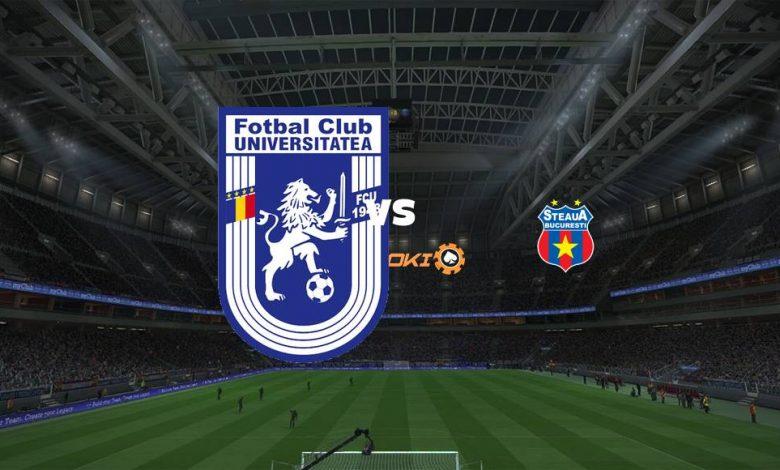 Live Streaming U Craiova 1948 vs FCSB 18 September 2021 1